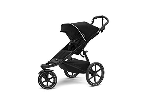 Thule Cochecito de bebé Urban Glide 2.0 de la Marca, Unisex, 10101923, Jet Black w/Black Frame