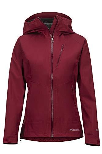 Marmot Wm's Knife Edge Jacket Chubasqueros, Chaqueta Impermeable, A Prueba De Viento, Impermeable, Transpirable, Mujer, Claret, S