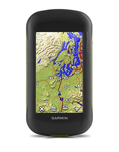 Garmin Montana 610 - GPS portátil de múltiples actividades (Pantalla táctil de 4', Resolución 272 x 480 Pixeles, 2.7 GB), Negro