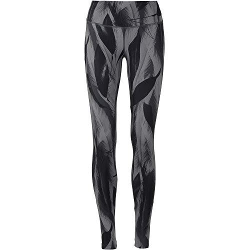 SALOMON Agile Long Tight Mallas de compresión para Running, Tejido de Punto, Mujer, Negro (Black/Ebony/Quiet Shade), S